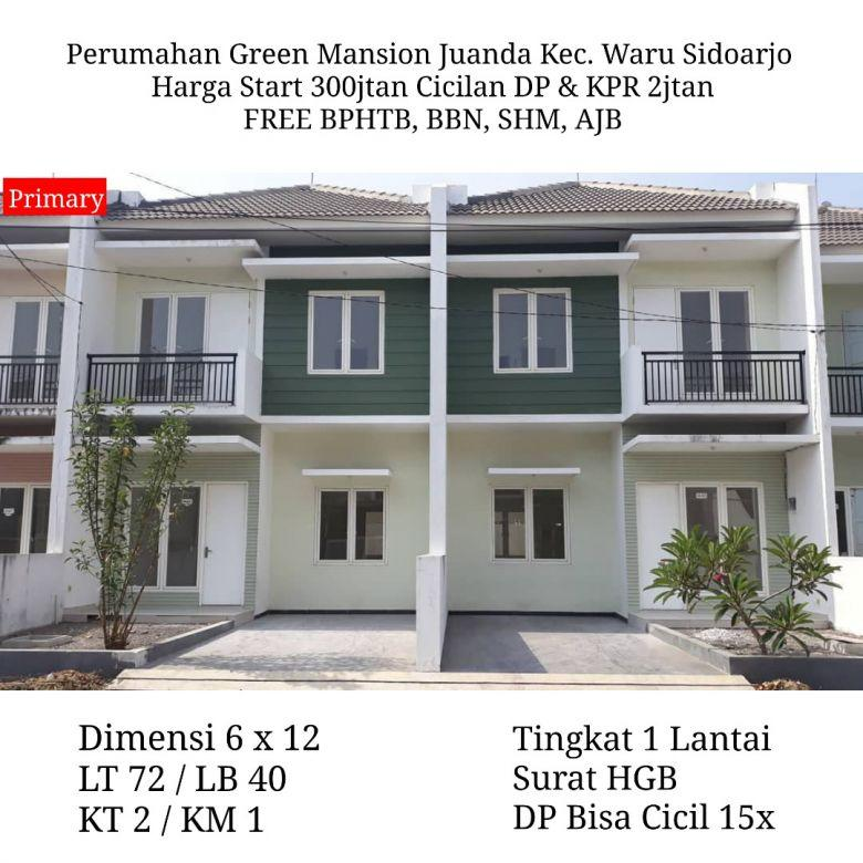 Green Mansion Juanda Sidoarjo Cash