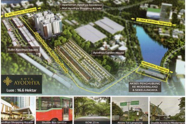 Rumah Dijual Cepat di Ayodhya Garden House CBD Tangerang 15796363