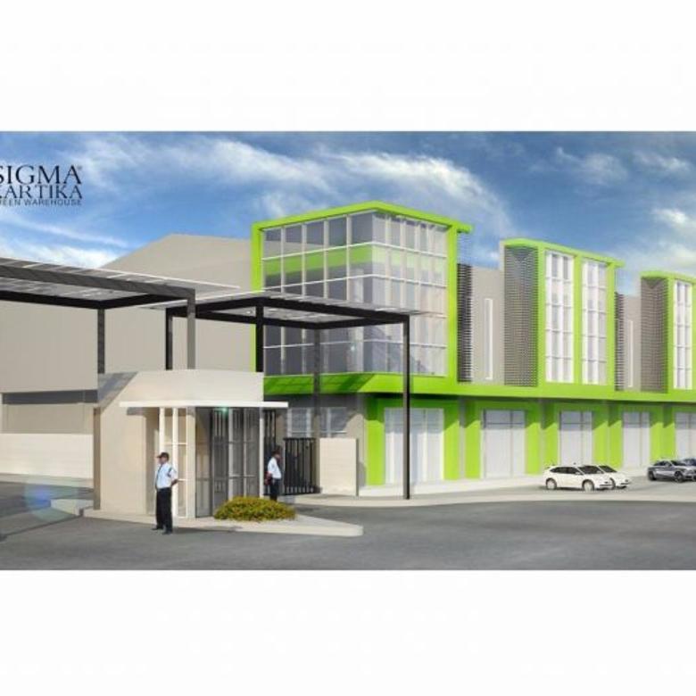 Gudang Ready Sigma , Lokasi Strategis untuk kawasan Industri