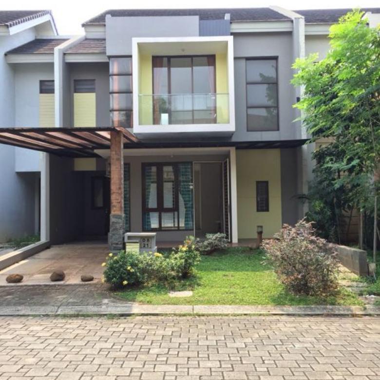 Rumah PALING MURAH @Foresta Albera ada ruang santai di belakang