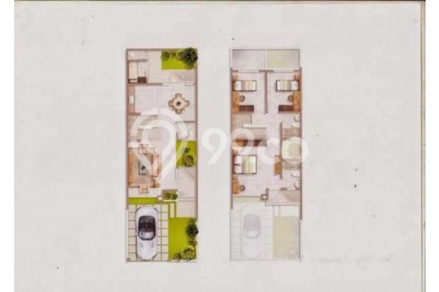 Jual Rumah Tingkat Strategis dan Mewah di Green Permata Residence MD668 16861274