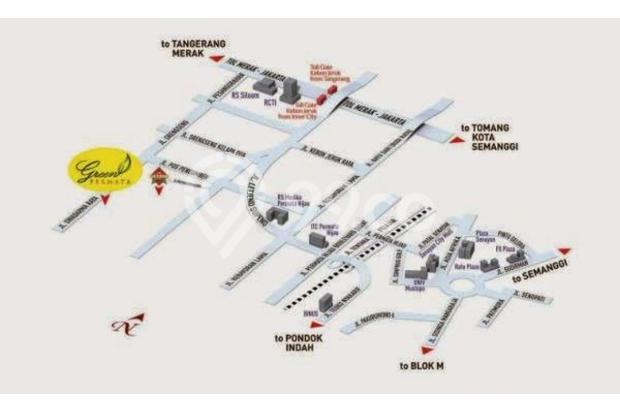 Jual Rumah Tingkat Strategis dan Mewah di Green Permata Residence MD668 16861276