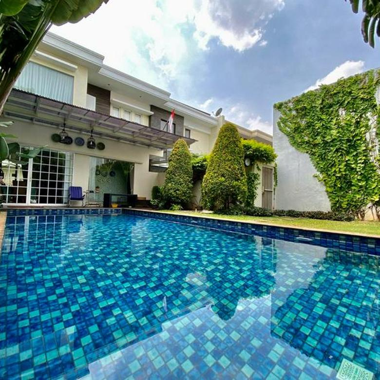Rumah mewah modern siap huni Mampang Prapatan