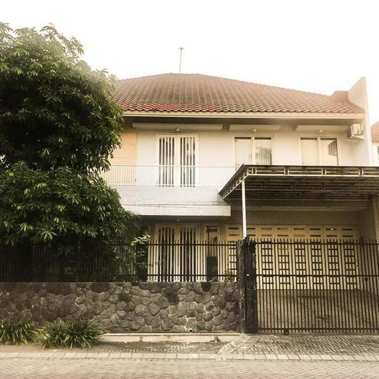 umah minimalis siap huni kondisi second Ciamik, area perumahan dalam cluster Surabaya barat, dekat G-walk