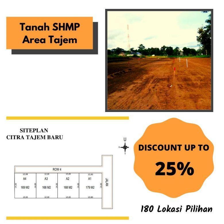 Mangku Aspal, Tanah SHMP Area Maguwo, Diskon Sampai 25%