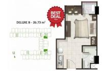 TERMURAH Jual Apartemen Parahyangan Residence Studio Unfurnished