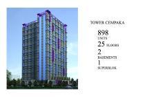 Apartment murah di depan exit tol Bekasi
