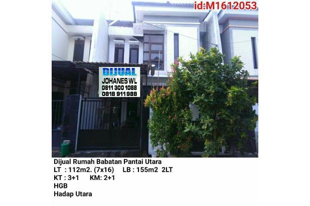 Dijual Rumah Babatan Pantai Utara Siap Huni!!! 17306554