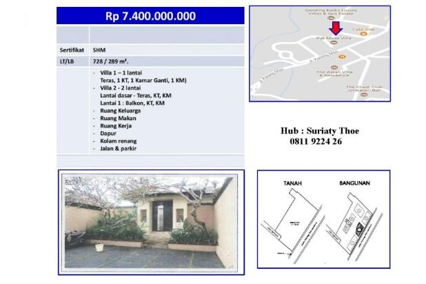 Rp7,4mily Vila Dijual