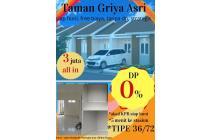 DP0% di TAMAN GRIYA ASRI free biaya strategis bebas banjir