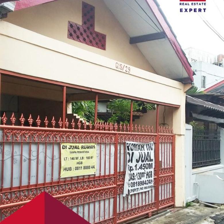 Dijual rumah murah hitung tanah siap huni bebas banjir pondok