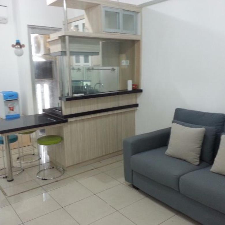 Apartemen Green Bay 3 Kamar Semifurnish Tower G Siap Huni