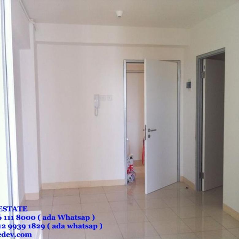 Dijual apartemen greenbay pluit 2bedroom lat 23 550jt ng dekat baywalk