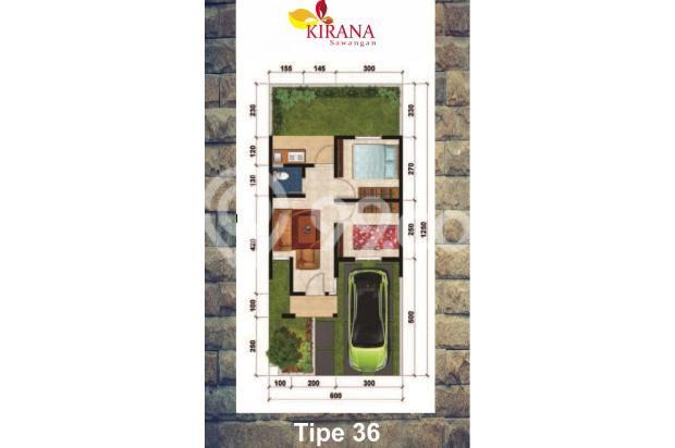 Miliki Kirana Sawangan KPR DP 0 % Bunga 6 %: Garansi Akad 16509858