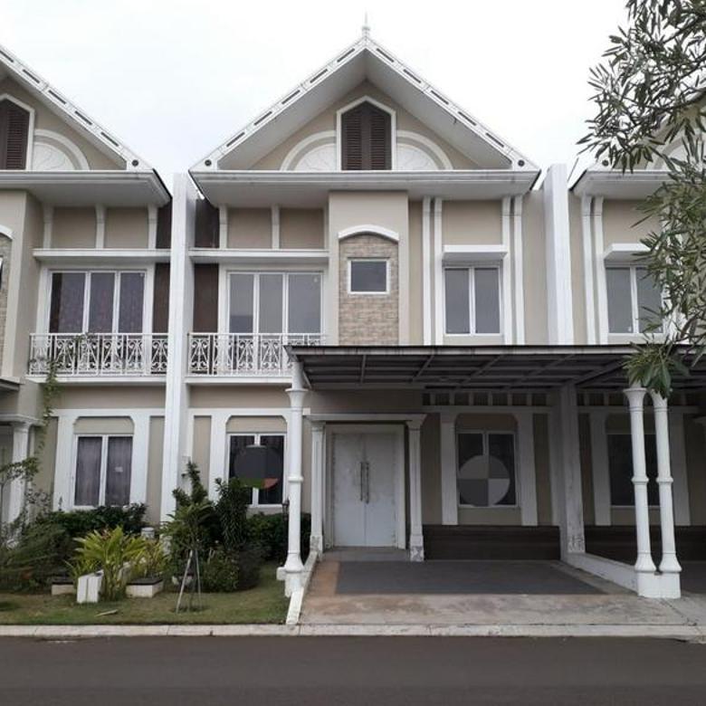 Rumah siap huni 2lt 8x15 120m Type 3+1KT di Cluster Thames JGC Jakarta Garden City Cakung