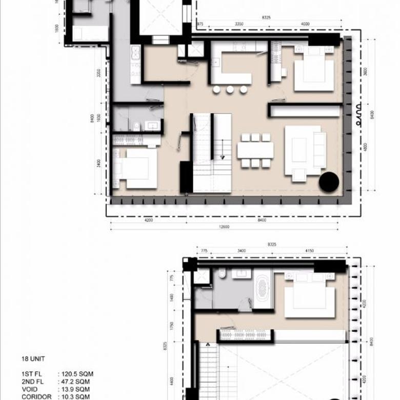 SAUMATA Loft Tipe A Semi Gross 192 m2