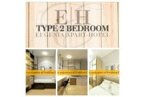 Eugenia Apart-Hotel At Swarnabumi Residence Bandung Type Two Bedroom