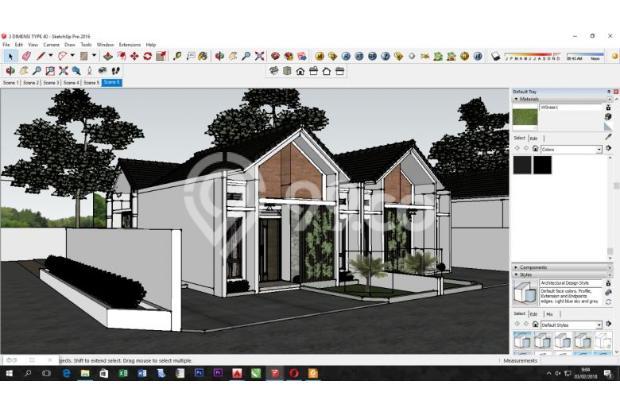 Rumah 2 Unit Baru Siap Bangun Type 40/100 Lingkungan Asri Aman dan Nyaman 18274488