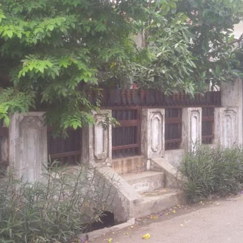 hitung tanah rumah tua murah komplek suryalaya buah batu