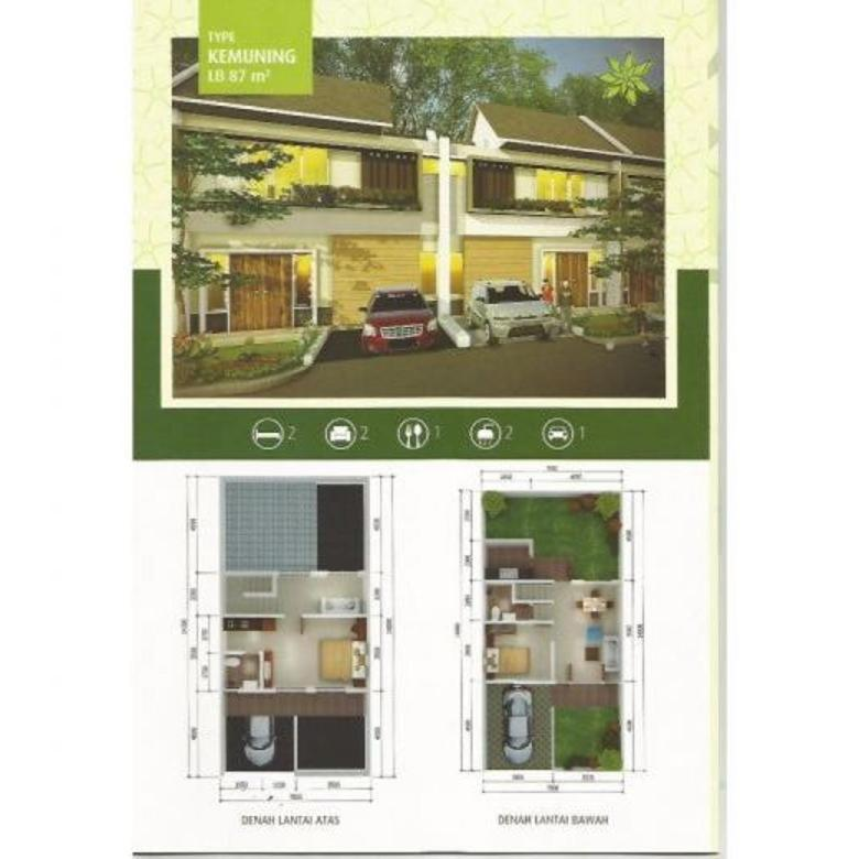 Dijual Rumah Baru 2lt Nyaman Strategis di Cempaka Hijau Bandung