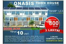 10 unit townhouse murah meriah jakarta pusat