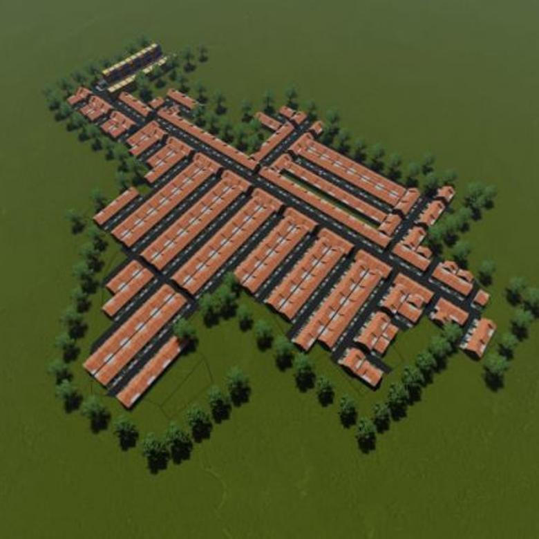Rumah indah harga murah di Rancamanyar bandung