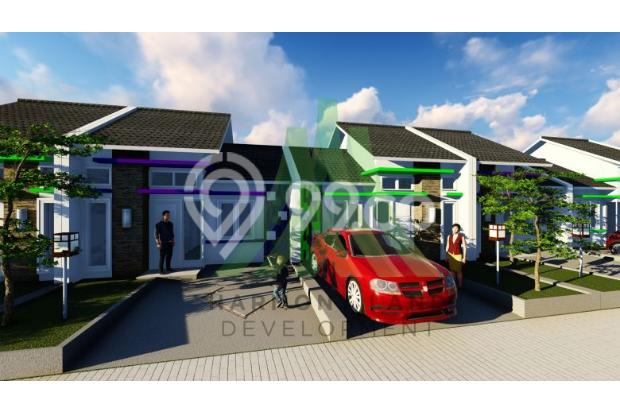 Rumah Minimalis Harga Manis dekat STASIUN dilalui ANGKOT 16521001