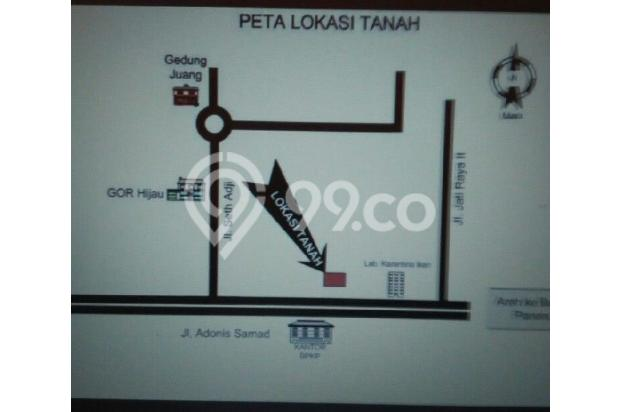 Letak lokasi tanah di palangkaraya 15498468