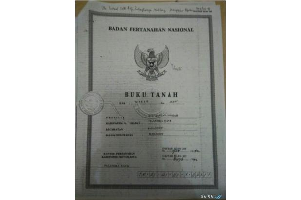 Sertipikat Asli Foto Copy.  15498479