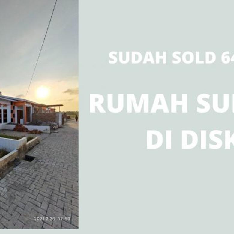 PERUMAHAN SUBSIDI JOKOWI DI SUNGGAL MURAH DAN SUDAH RAMAI