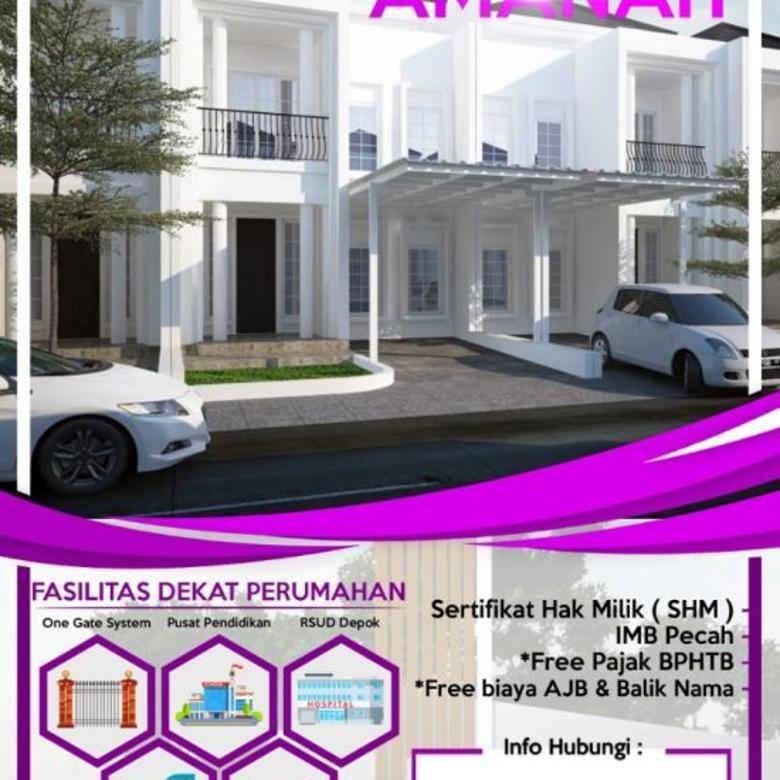 Dijual Rumah Strategis Asri Istimewa di Jl. Haji Maksum, Depok