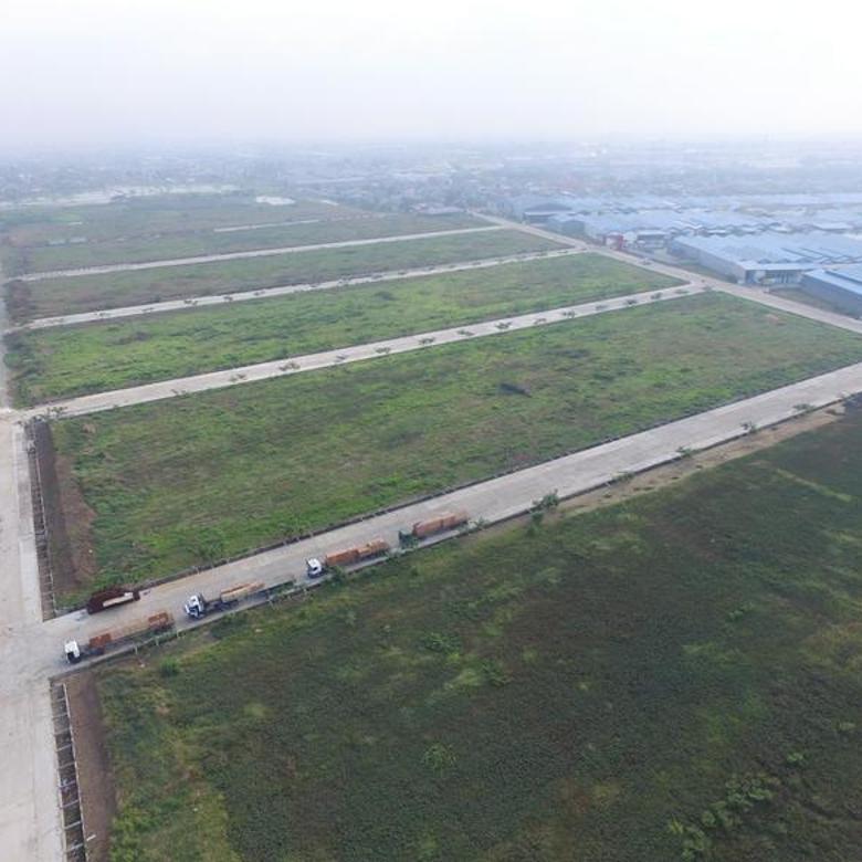 S.E.W.A Jangka Panjang Tanah u/ Pabrik / Open Yard Dekat Jakarta (Belakang Bandara Soekarno-Hatta)