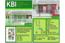 Rumah Murah 100 JUTAAN Bebas Banjir & Free Design Kavling Bojongwaru Indah