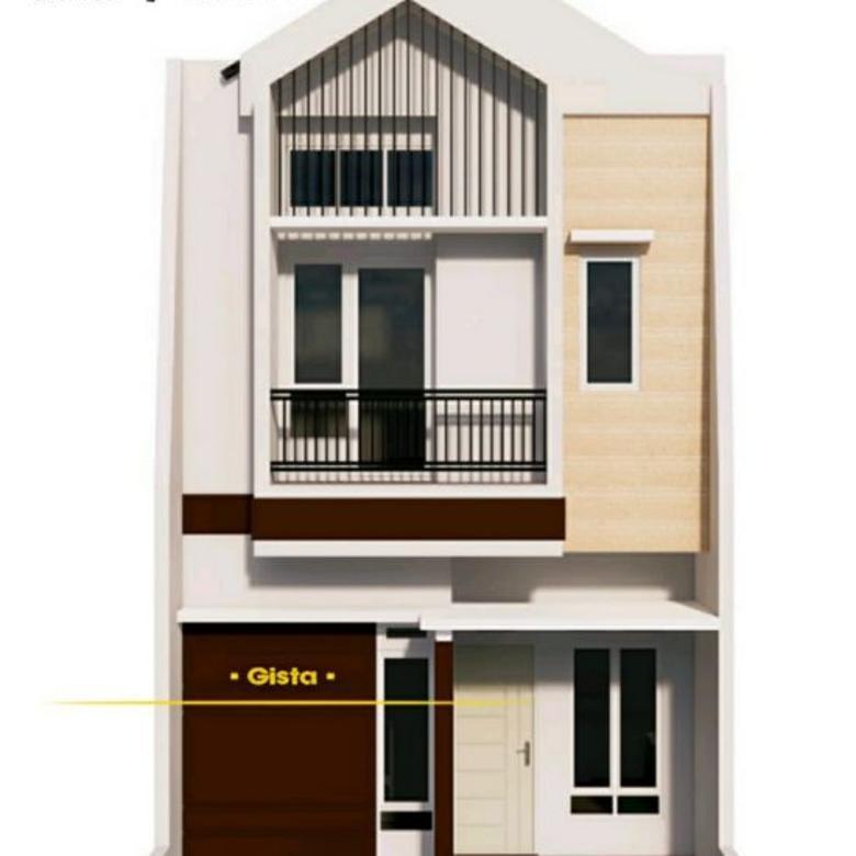 Rumah Baru Total 31 Unit, Design Minimalis di Ciracas Jaktim