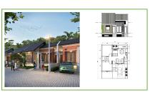 Rumah hunian tipe 45 The Green Setiabudi di Bandung Utara dekat Lembang
