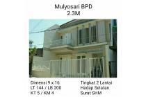 Rumah dijual Mulyosari BPD Surabaya Timur Baru Minimalis Siap Huni Nego