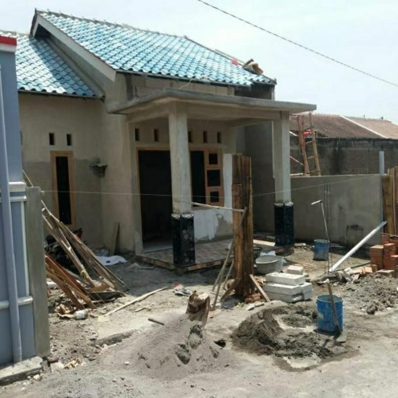 Rumah Baru Tahap Finishing Di Sawahan