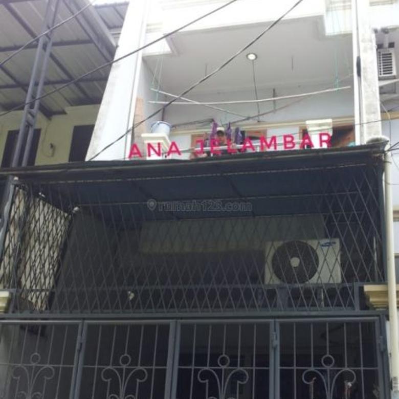Rumah uk 3.7x16m jalan 2 mobil di Jelambar