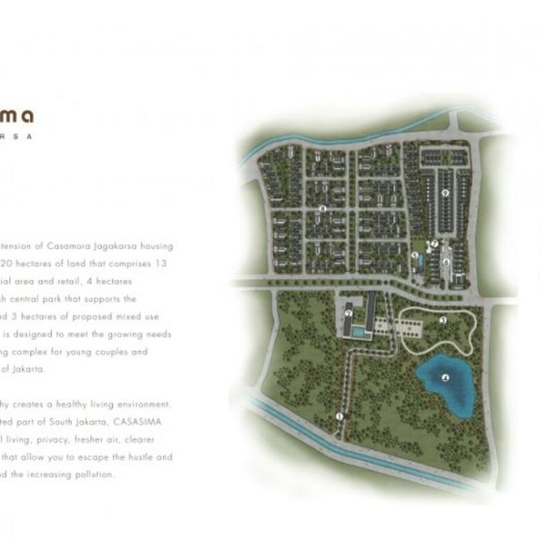 CASASIMA, Jagakarsa.Perumahan Ramah Lingkungan di Selatan Jakarta
