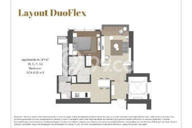 Dijual Apartemen 57 Promenade 1BR – HOT PROMO FREE CICILAN 2 BULAN 17073995