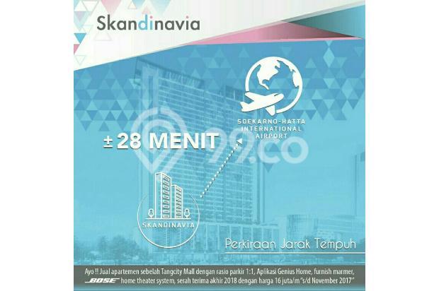 Scandinavia apartement,Harga Early Bird,20menit ke bandara soeta 13866889