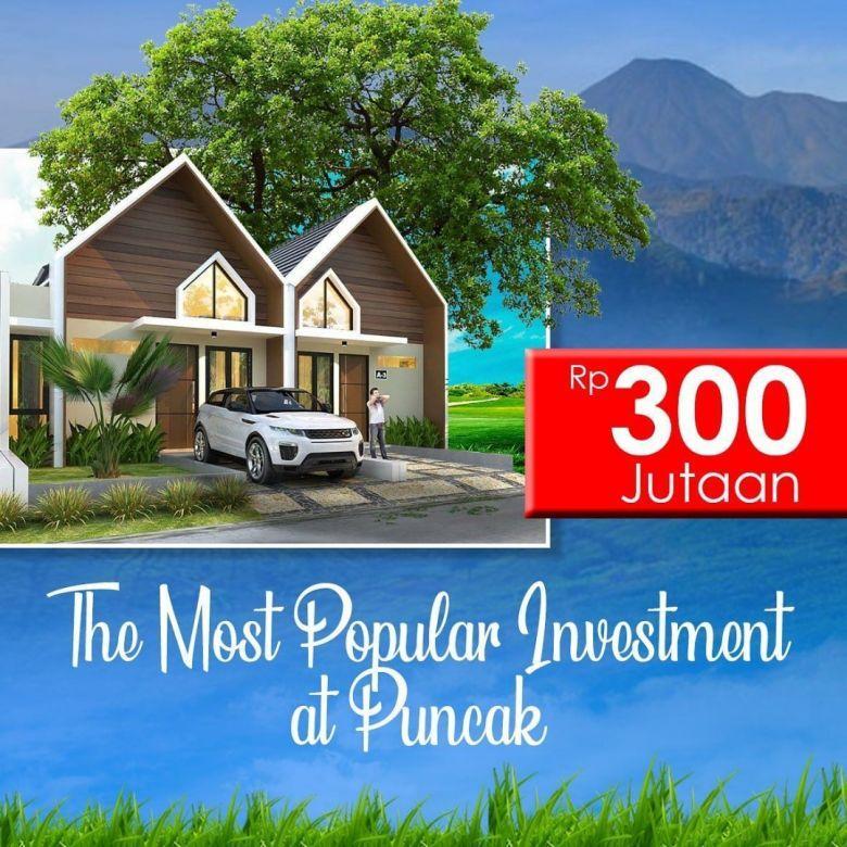 Villa Murah Lokasi Cipanas View Gunung gede Pangrango