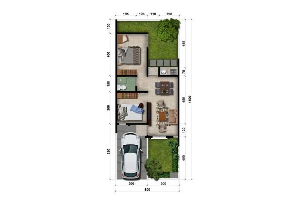 Rp774jt Rumah Dijual