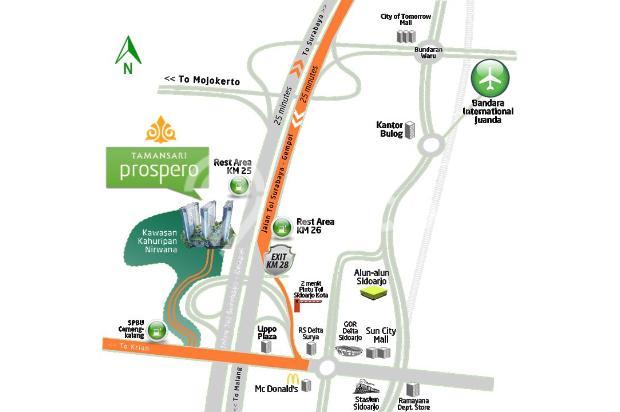 Apartemen siap huni Surabaya Selatan, investasi menjajikan 16049504