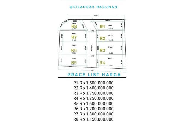 Rumah dalam cluster asri nyaman di cilandak jakarta selatan 16049156