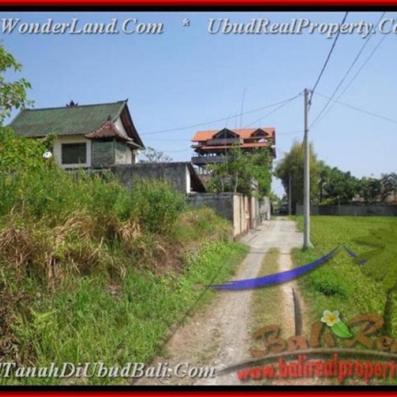 Langka, 300  m2 View sawah linkungan villa