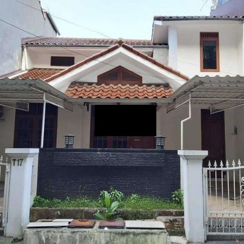 Rumah di Limo, 1.5Lt, Semi Furn, Siap Huni, Prmhn Wisma Cakra