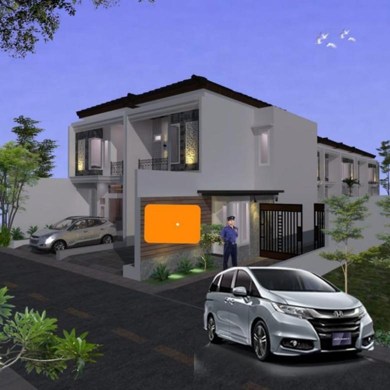 Rumah Baru 2 Lantai Dijual Minimalis dan Stratgis di Jagakarsa