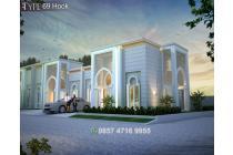 Rumah Minimalis 3 Kamar Arsitektur Timur Tengah Modern