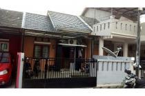 Dijual cepat rumah di komplek rajawali bonus kavling 300M
